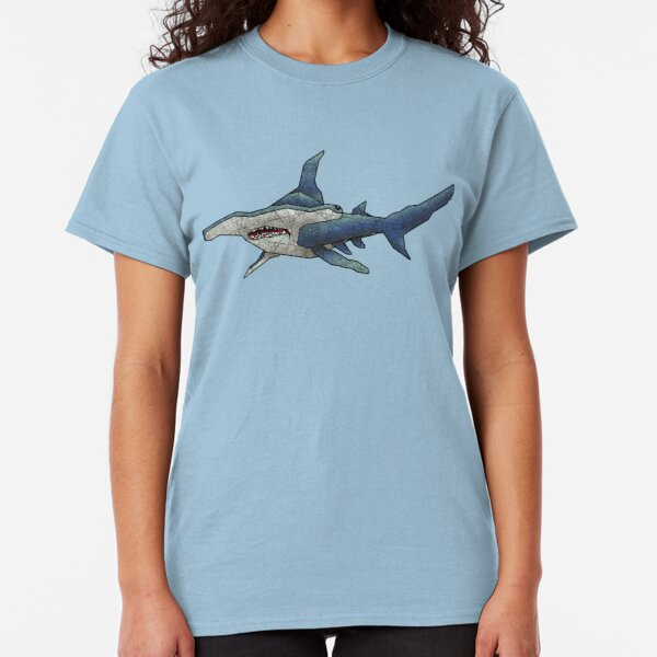 Hammerhead Sharks Swimming in the Ocean Novelty Metal Vanity Tag License Plate