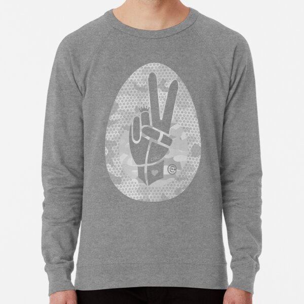 Peace First | Washed Camouflage Lightweight Sweatshirt