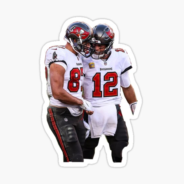 Brady and Gronk Sticker