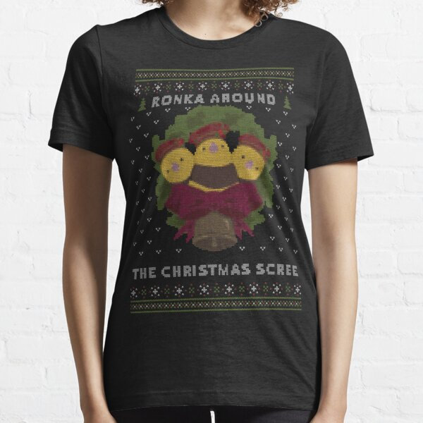 Ronka Around Ugly Christmas Sweater - XIV Essential T-Shirt