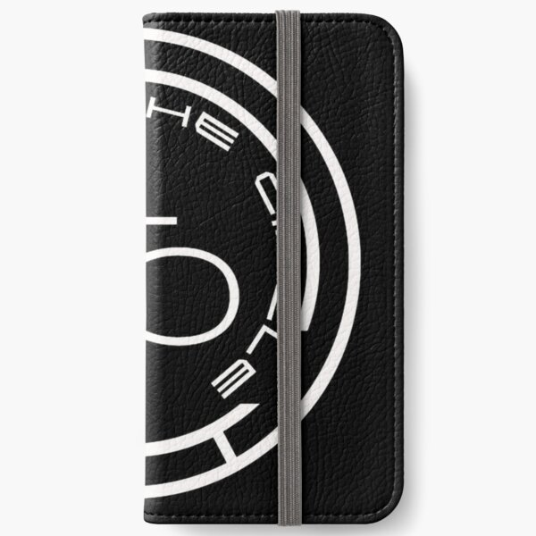 Connect The Circle - Black Logo  iPhone Wallet