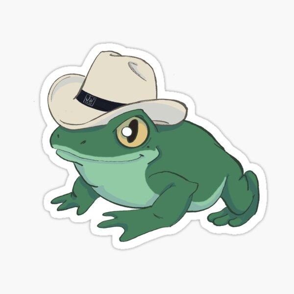 Stetson Frog!Nicole Sticker