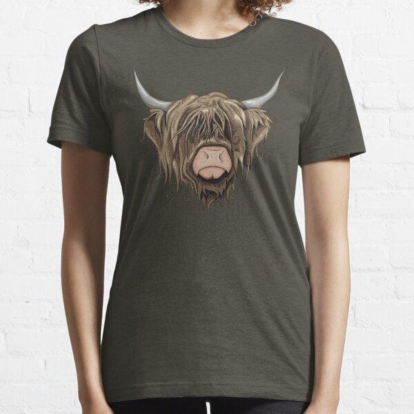 Highland Cow Essential T-Shirt