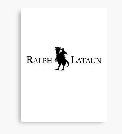 Polo Ralph Lataun Canvas Print