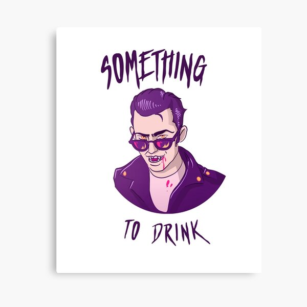 Something To Drink ! Canvas Print