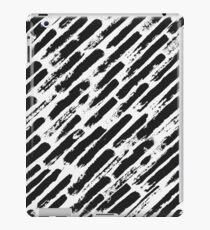Grunge Brush Srokes Pattern Diagonal iPad Case/Skin