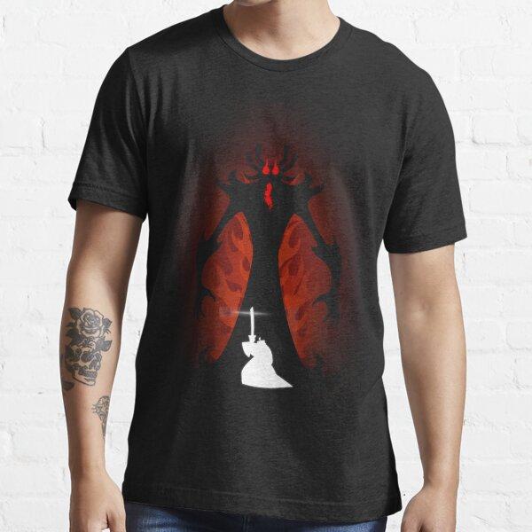 Samurai Jack vs Aku Essential T-Shirt