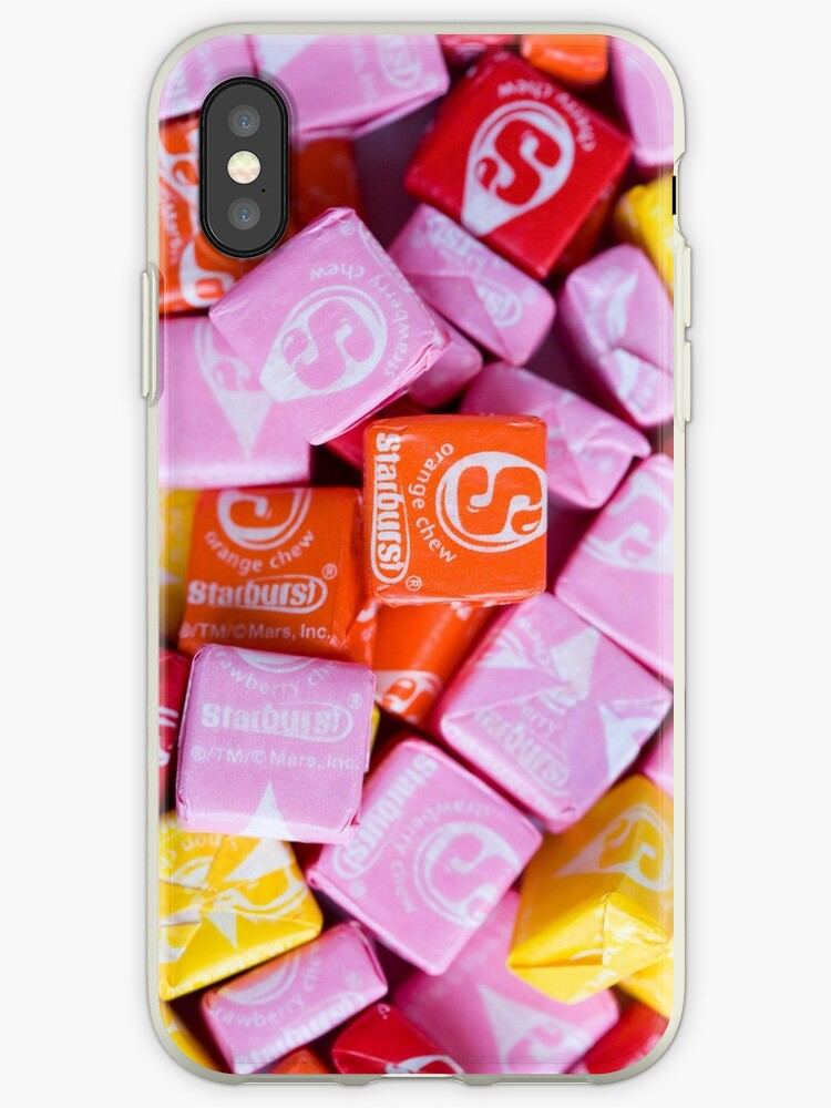 'Starburst Candy Lover's Dream' iPhone Case by melliott15