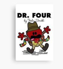 Dr Four Canvas Print