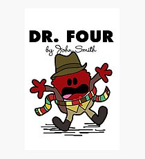 Dr Four Photographic Print