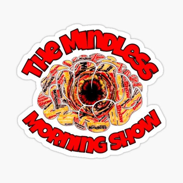 Mindless Morning Show Logo Sticker