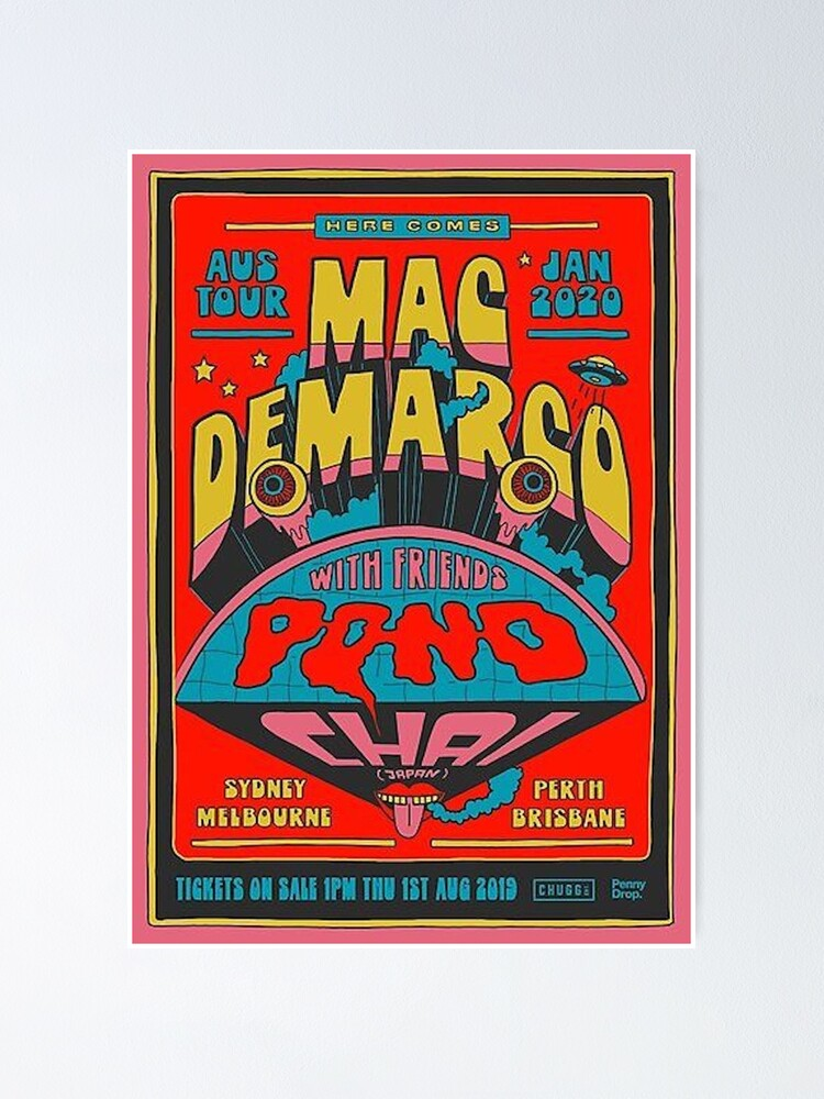 Alternate view of mac demarco Poster