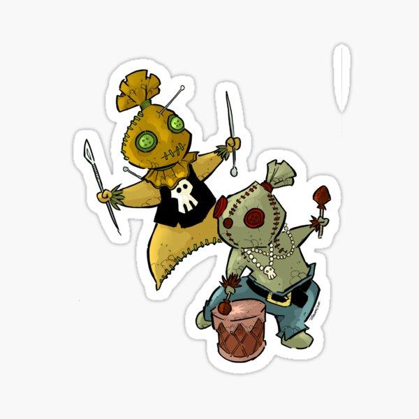 Voodoo Dolls Sticker
