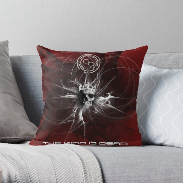 Connect The Circle - The King Is Dead Throw Pillow