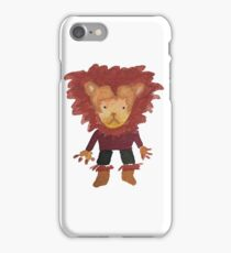 Lion Jungle Friends Baby Animal Water Color iPhone Case/Skin