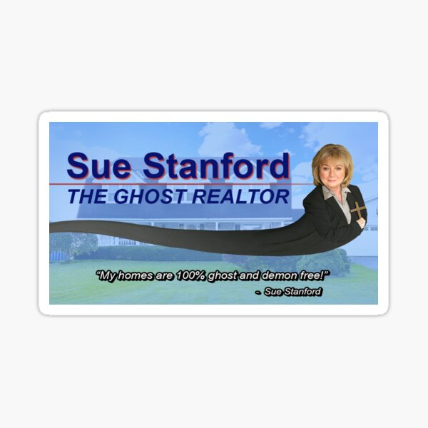 Nathan For You - The Ghost Realtor Sticker