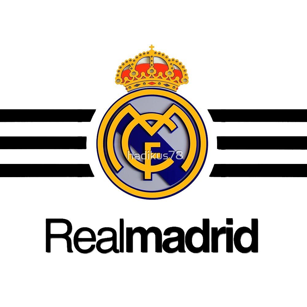 "real madrid logo"" by hadikus78 | Redbubble"