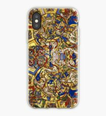 Inhabited Initial C of a Breviary from Montecassino (1153 AD) iPhone Case