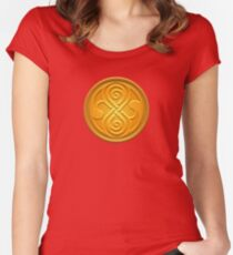 Sign of the Time Lords Women's Fitted Scoop T-Shirt