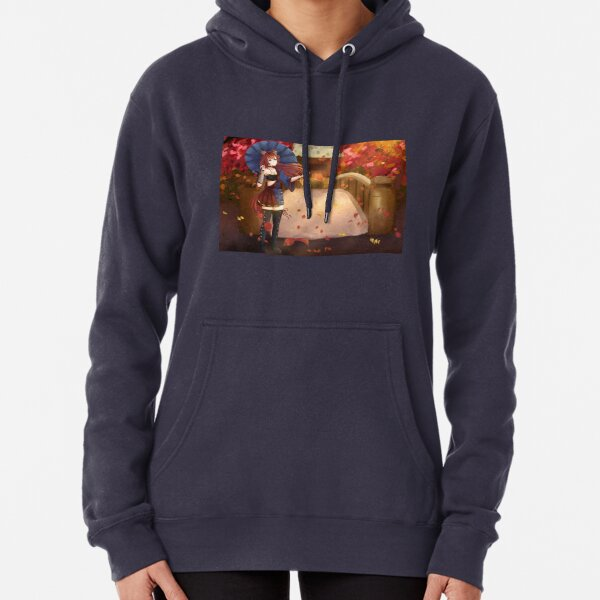 Autumn Shrine Pullover Hoodie