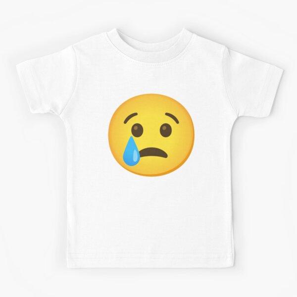 Crying Love Emoticon Emoji Kid/'s T-Shirt Children Boys Girls Unisex Top