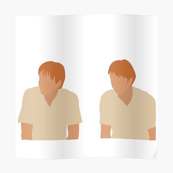 Fred and George Weasley stickers Poster