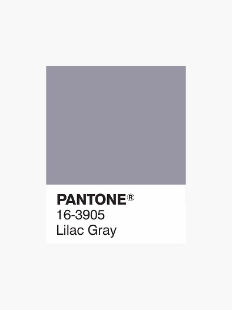 Pantone Lila Grau von gracieallen95