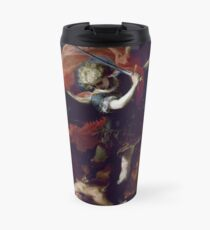Claudio Coello - Saint Michael the Archangel. Travel Mug