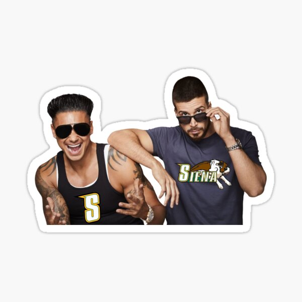Vinny and Pauly D Sticker
