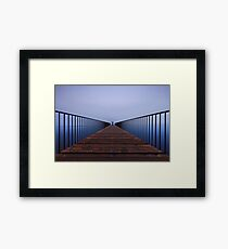 Path to Success Framed Print