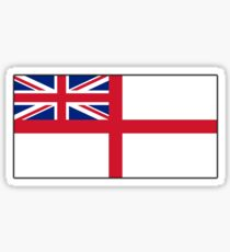 White Ensign, Flag, Royal Navy, Ships, St George's Cross, St George's Ensign, Navy, Blue Sticker