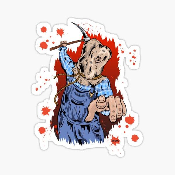 Young Voorhees Sticker