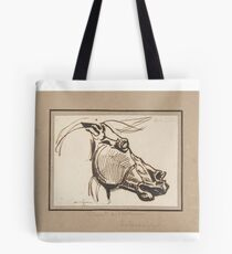 Eugene Delacroix, Head of a Horse, after the Parthenon Tote Bag
