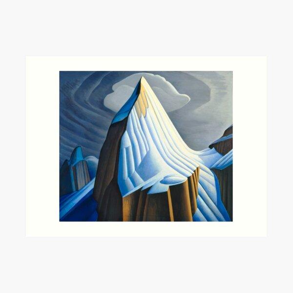 Mt. Lefroy (1930) by Lawren S. Harris  Art Print