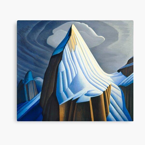 Mt. Lefroy (1930) by Lawren S. Harris  Canvas Print