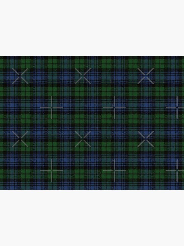 Black Watch Ancient  Original Scottish Tartan by DiamondWillow
