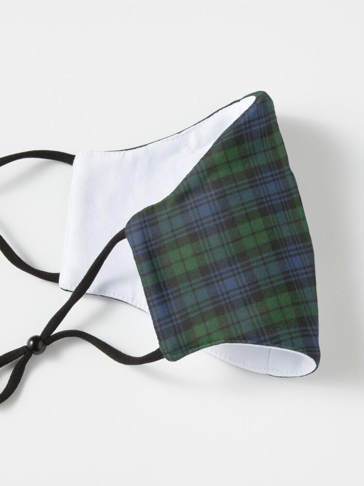 Alternate view of Black Watch Ancient  Original Scottish Tartan Mask
