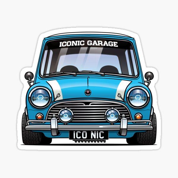 Bleu MK1 Sticker