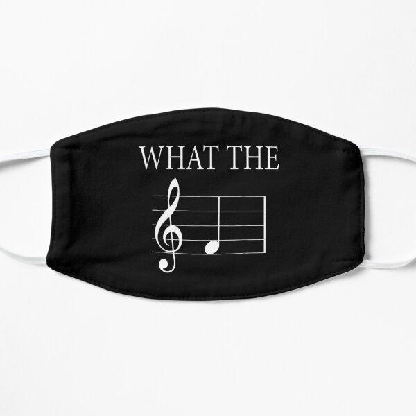 Cadeau drôle ce que la note F note drôle de musique Masque sans plis