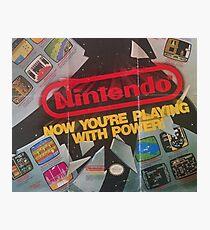 Nintendo Power Era Photographic Print