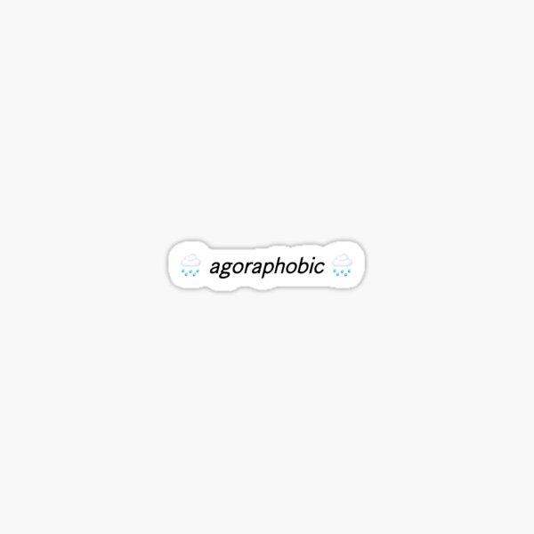 corpse husband agoraphobic *READ THE DESCRIPTION* Sticker