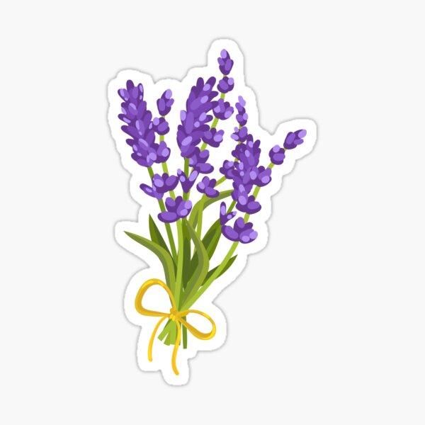 Lavendar watercolor Sticker
