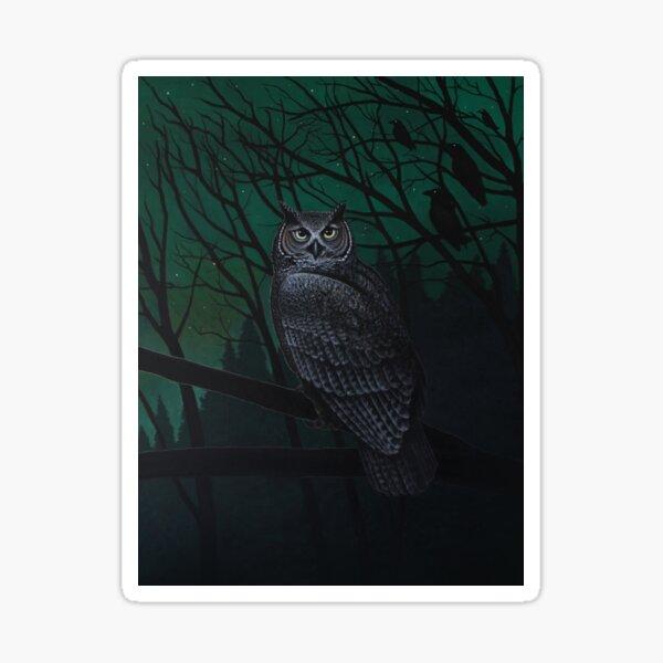 Night Watcher Sticker