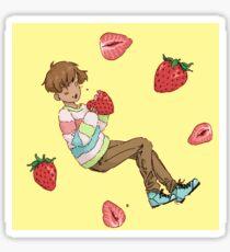 Strawberrys Sticker