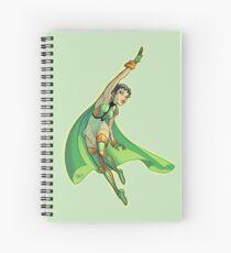Tomorrow Woman 1990s JLA Spiral Notebook