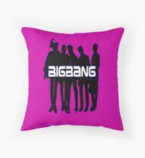 ♥♫Love BigBang Cool K-Pop Clothes & Phone/iPad/Laptop/MackBook Cases/Skins & Bags & Home Decor & Stationary♪♥ Throw Pillow