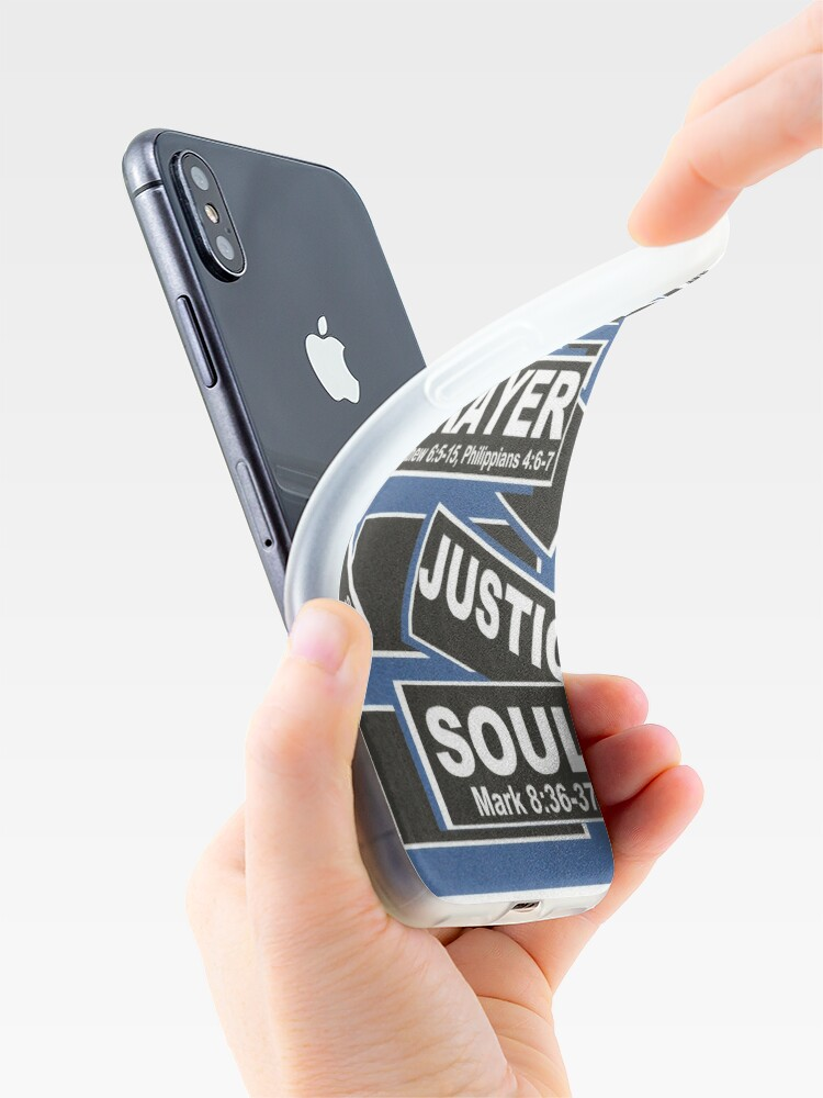 Alternate view of BIBLE Via Word Association iPhone Case & Cover