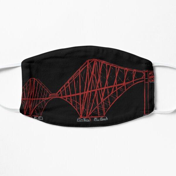 Forth Rail Bridge Line Drawing Flat Mask