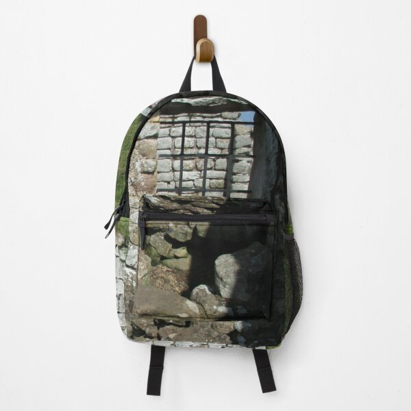 Merch #103 -- Rocks And Bricks - Shot 10 (Hadrian's Wall) Backpack