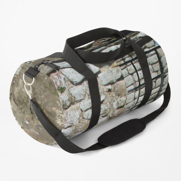 Merch #103 -- Rocks And Bricks - Shot 10 (Hadrian's Wall) Duffle Bag